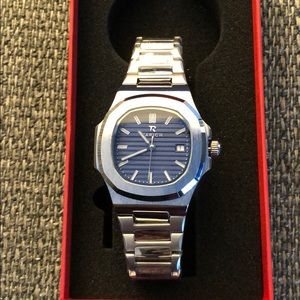 Patek nautilus looking watch.